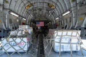 Опубликованы фото аппаратов ИВЛ, отправленных США в Россию