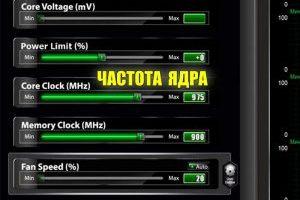 Управление частотой ядра с помощью Core Clock