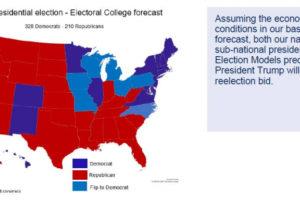 Аналитики Oxford Economics: Трамп может проиграть выборы из-за коронавируса