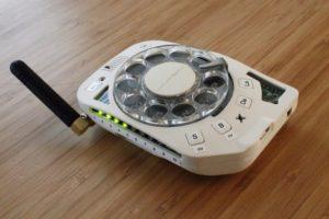 Этот забавный гаджет – настоящий дисковый мобильный телефон – SENSOR 24