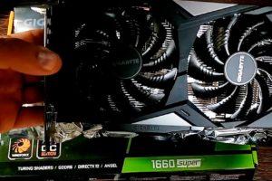 Поменял видеокарту GTX 1050 TI на GTX 1660 SUPER