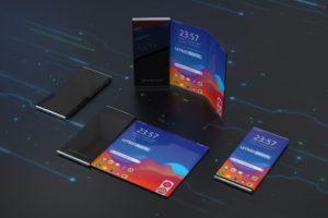 Складной смартфон LG появится в начале следующего года с экраном BOE