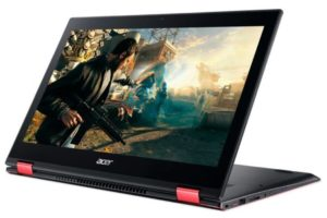 Acer начала продажи игрового ультрабука-трансформера Nitro 5 Spin в России