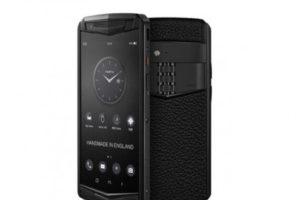 Vertu вернулась с новым люксовым смартфоном — новости