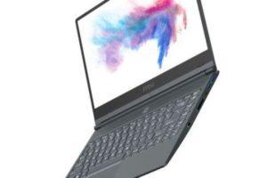 Лэптоп MSI Prestige 14 получил 4K-дисплей и процессор Comet Lake