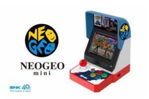 SNK выпустит мини-версию культового игрового автомата Neo Geo MVS