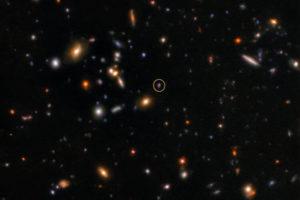 Астрономы обнаружили последствия самой древней вспышки в наблюдаемой Вселенной