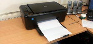 Принтер печатает белые листы – что делать