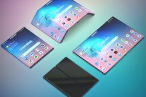 По стопам Xiaomi: Samsung проектирует смартфон двойного сложения