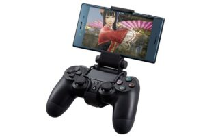 Sony X Mount аксессуар для подключения телефонов Xperia к Dualshock 4