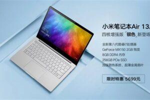 Xiaomi выпустила лэптоп Mi Notebook Air 13.3